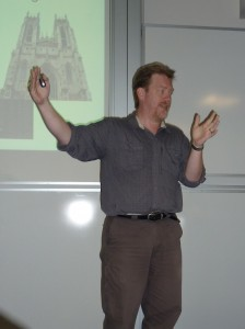 lecturing